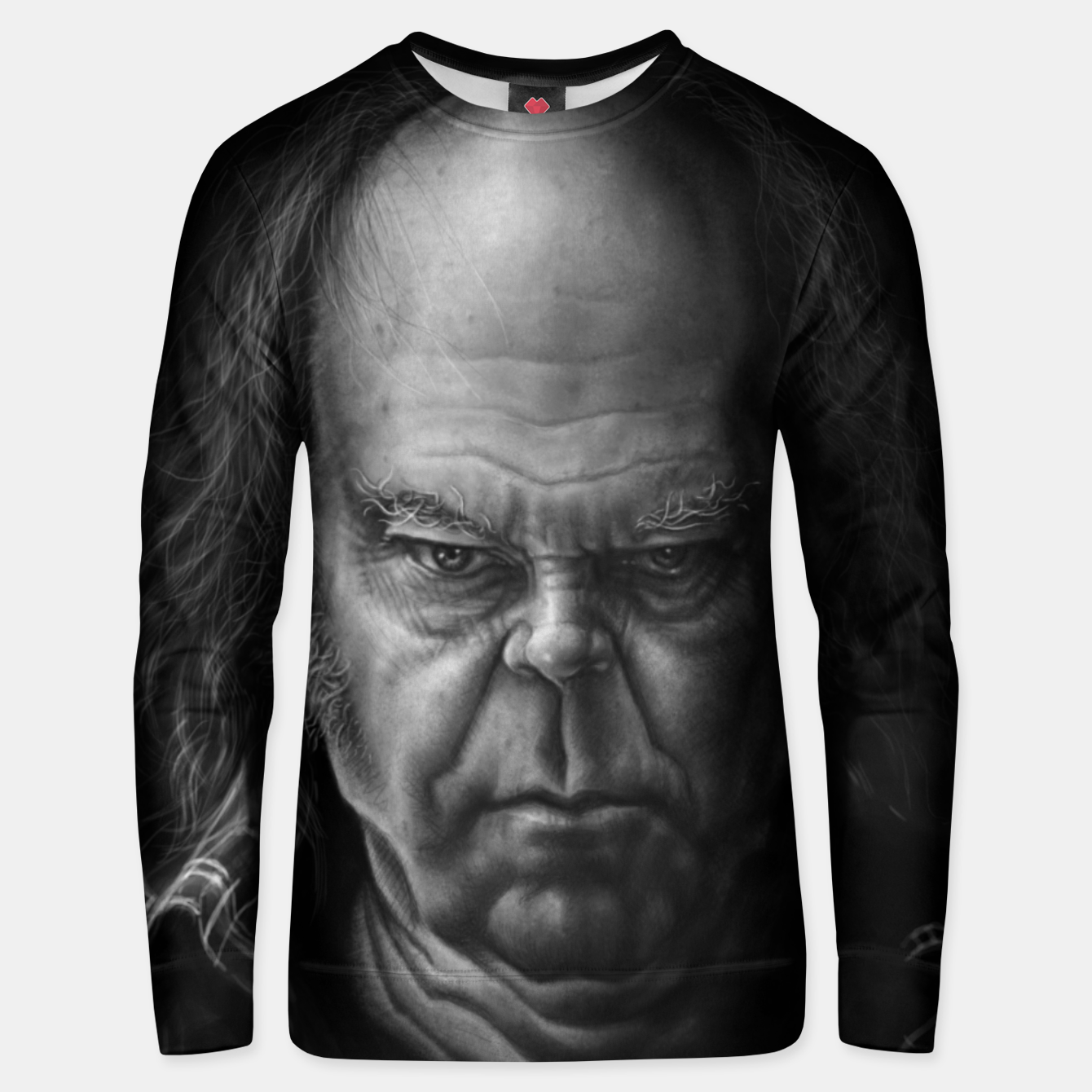 Image of Neil Young Cotton sweater - Live Heroes