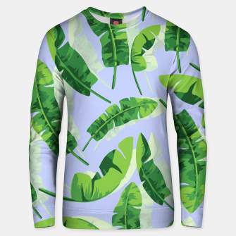 Thumbnail image of Banana Leaf  Cotton sweater, Live Heroes