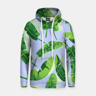 Thumbnail image of Banana Leaf  Cotton hoodie, Live Heroes