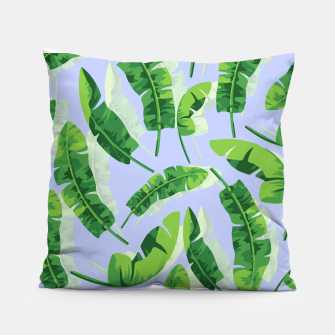 Thumbnail image of Banana Leaf  Pillow, Live Heroes