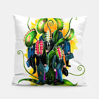 Thumbnail image of plant workers Pillow, Live Heroes