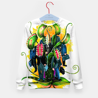 Thumbnail image of plant workers Kid's sweater, Live Heroes