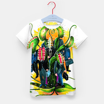 Thumbnail image of plant workers Kid's t-shirt, Live Heroes