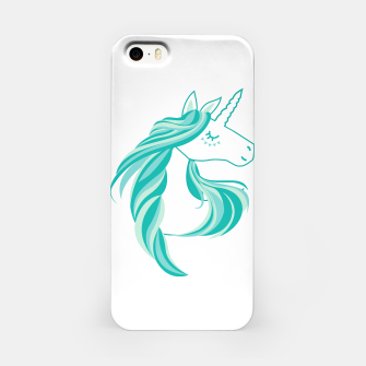 Thumbnail image of cute unicorn iPhone Case, Live Heroes