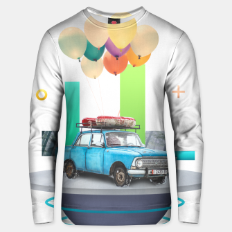 Miniatur Flying Car Cotton sweater, Live Heroes