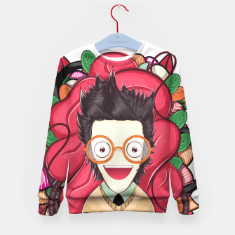 Thumbnail image of Smart Boy Kid's sweater, Live Heroes