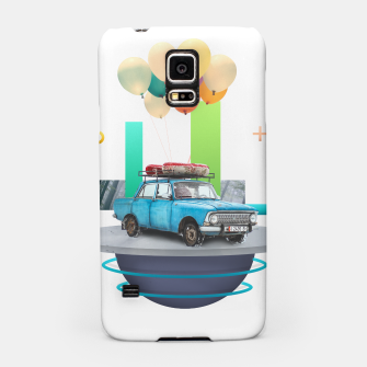 Miniatur Flying Car Samsung Case, Live Heroes