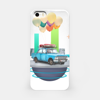 Miniatur Flying Car iPhone Case, Live Heroes