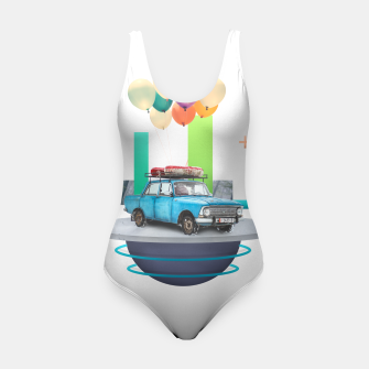 Miniatur Flying Car Swimsuit, Live Heroes