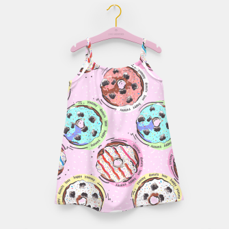 Miniatur Donuts Girl's dress, Live Heroes