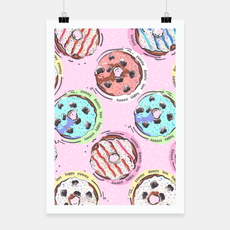 Miniatur Donuts Poster, Live Heroes