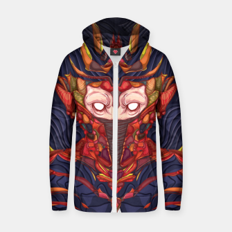 Thumbnail image of Scary Spy Cotton zip up hoodie, Live Heroes