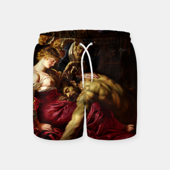 Thumbnail image of Samson and Delilah by Peter Paul Rubens Swim Shorts, Live Heroes