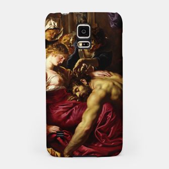 Thumbnail image of Samson and Delilah by Peter Paul Rubens Samsung Case, Live Heroes