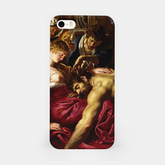 Thumbnail image of Samson and Delilah by Peter Paul Rubens iPhone Case, Live Heroes