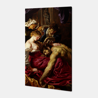 Thumbnail image of Samson and Delilah by Peter Paul Rubens Canvas, Live Heroes