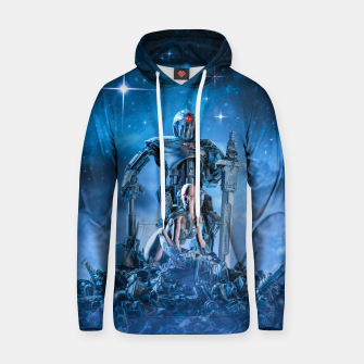 Thumbnail image of The Quantum Warrior Cotton hoodie, Live Heroes