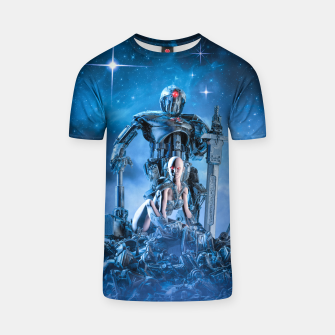Thumbnail image of The Quantum Warrior T-shirt, Live Heroes