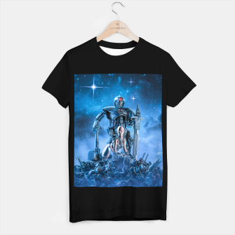 Thumbnail image of The Quantum Warrior T-shirt regular, Live Heroes