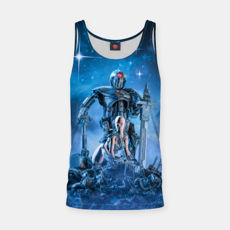 Thumbnail image of The Quantum Warrior Tank Top, Live Heroes