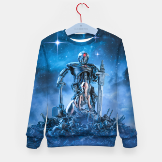Thumbnail image of The Quantum Warrior Kid's sweater, Live Heroes