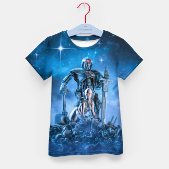 Thumbnail image of The Quantum Warrior Kid's t-shirt, Live Heroes