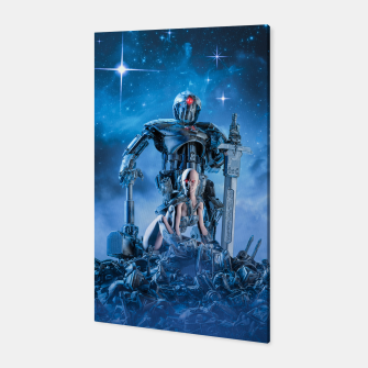 Thumbnail image of The Quantum Warrior Canvas, Live Heroes