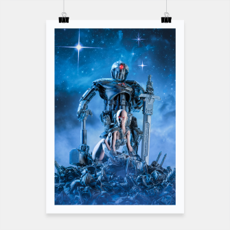 Thumbnail image of The Quantum Warrior Poster, Live Heroes