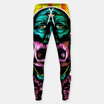 Thumbnail image of Skull and face helmet Cotton sweatpants, Live Heroes