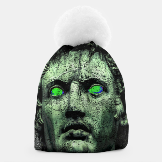 Thumbnail image of Angry Caesar Augustus Photo Manipulation Portrait Beanie, Live Heroes