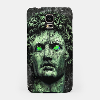 Thumbnail image of Angry Caesar Augustus Photo Manipulation Portrait Samsung Case, Live Heroes