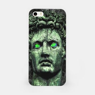 Thumbnail image of Angry Caesar Augustus Photo Manipulation Portrait iPhone Case, Live Heroes
