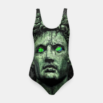 Thumbnail image of Angry Caesar Augustus Photo Manipulation Portrait Swimsuit, Live Heroes