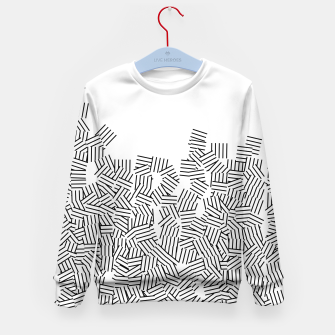 Thumbnail image of Minimal modern art  Kid's sweater, Live Heroes
