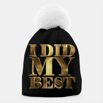 Thumbnail image of I Did My Best Golden Beanie, Live Heroes