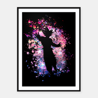 Thumbnail image of The Warrior Framed poster, Live Heroes