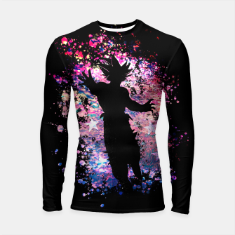 Thumbnail image of The Warrior Longsleeve rashguard , Live Heroes