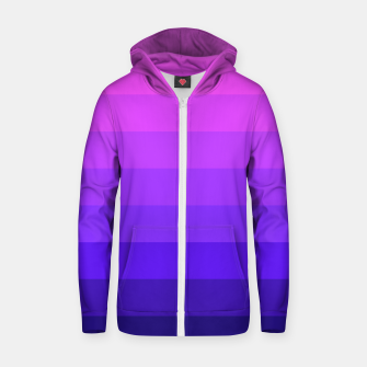 Miniatur PINK&PURPLE Cotton zip up hoodie, Live Heroes