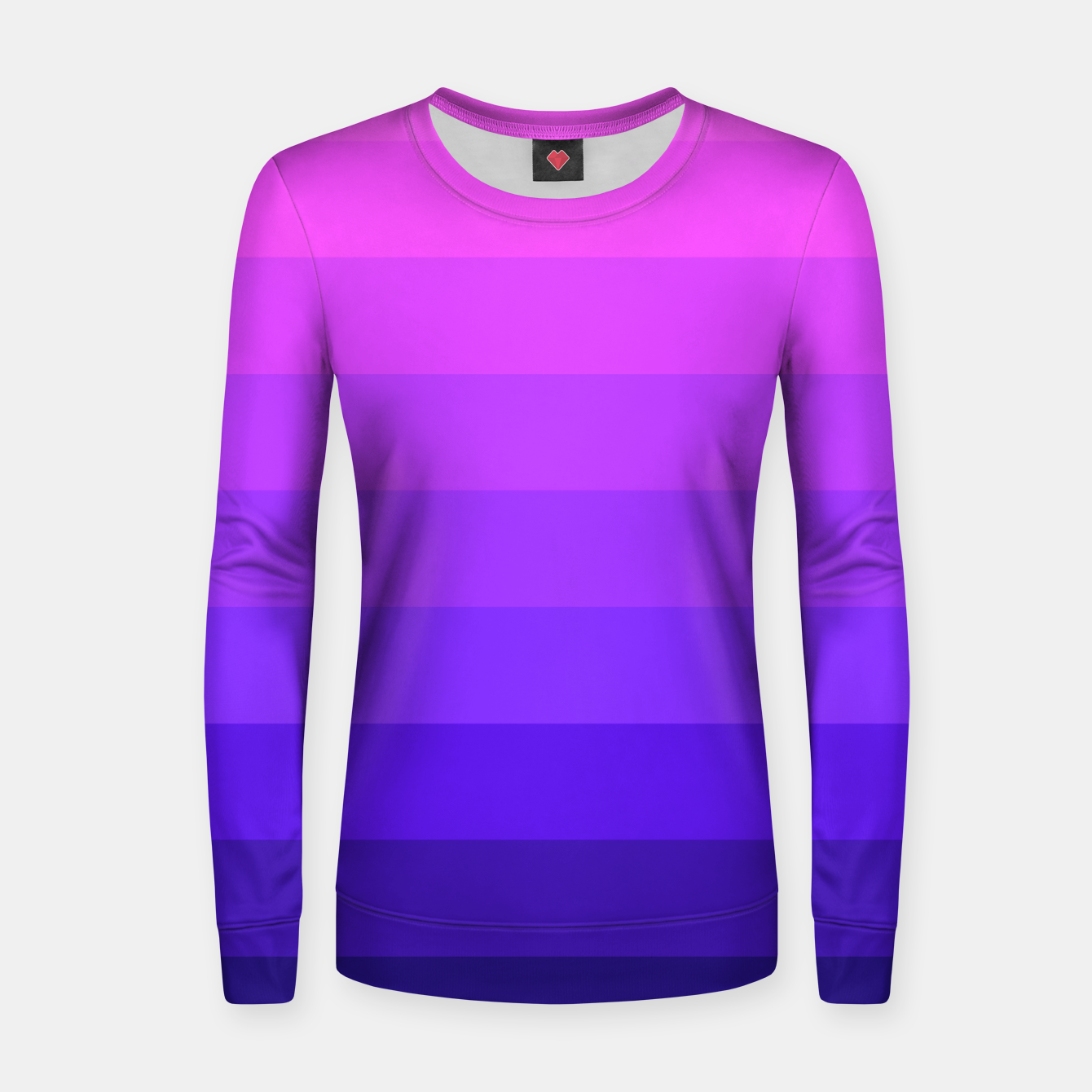 Image of PINK&PURPLE Woman cotton sweater - Live Heroes
