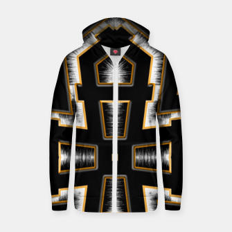 Thumbnail image of Wind Storm Cotton zip up hoodie, Live Heroes