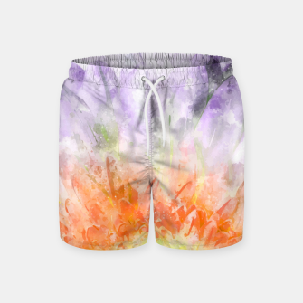 Thumbnail image of Divine Floral Swim Shorts, Live Heroes