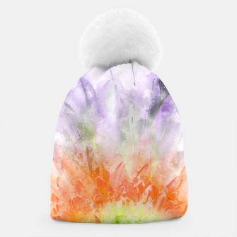Thumbnail image of Divine Floral Beanie, Live Heroes