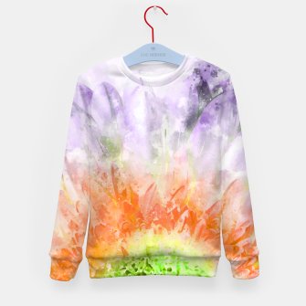 Thumbnail image of Divine Floral Kid's sweater, Live Heroes