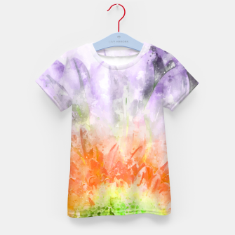 Thumbnail image of Divine Floral Kid's t-shirt, Live Heroes