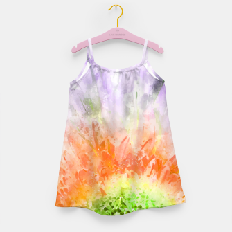 Thumbnail image of Divine Floral Girl's dress, Live Heroes