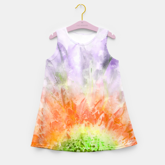 Thumbnail image of Divine Floral Girl's summer dress, Live Heroes