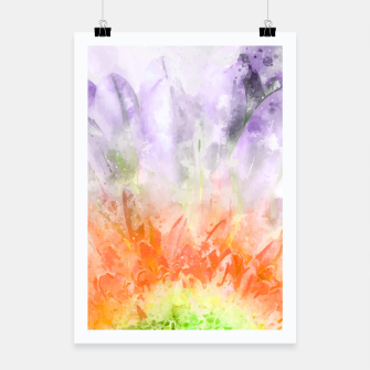 Thumbnail image of Divine Floral Poster, Live Heroes