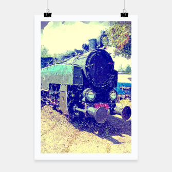 Thumbnail image of locomotive Plakat, Live Heroes