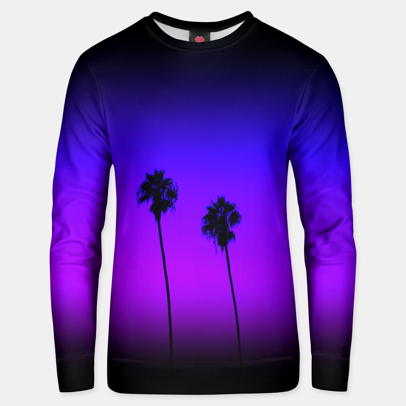 Image of PalmTree in Nowhere Cotton sweater - Live Heroes
