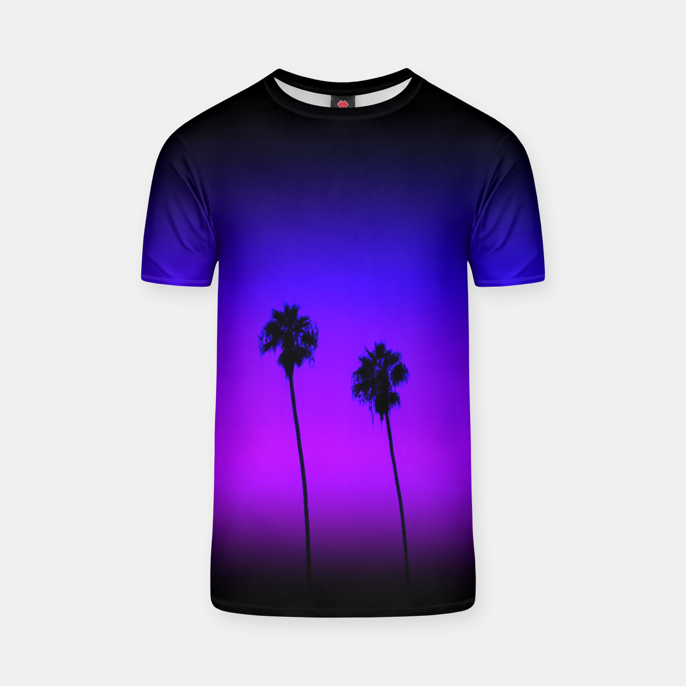 Image of PalmTree in Nowhere T-shirt - Live Heroes